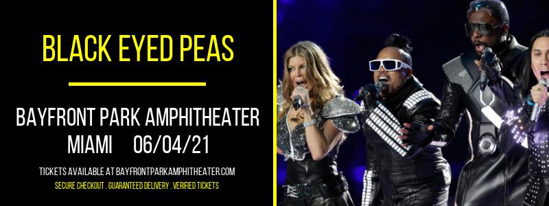 Black Eyed Peas at Bayfront Park Amphitheater